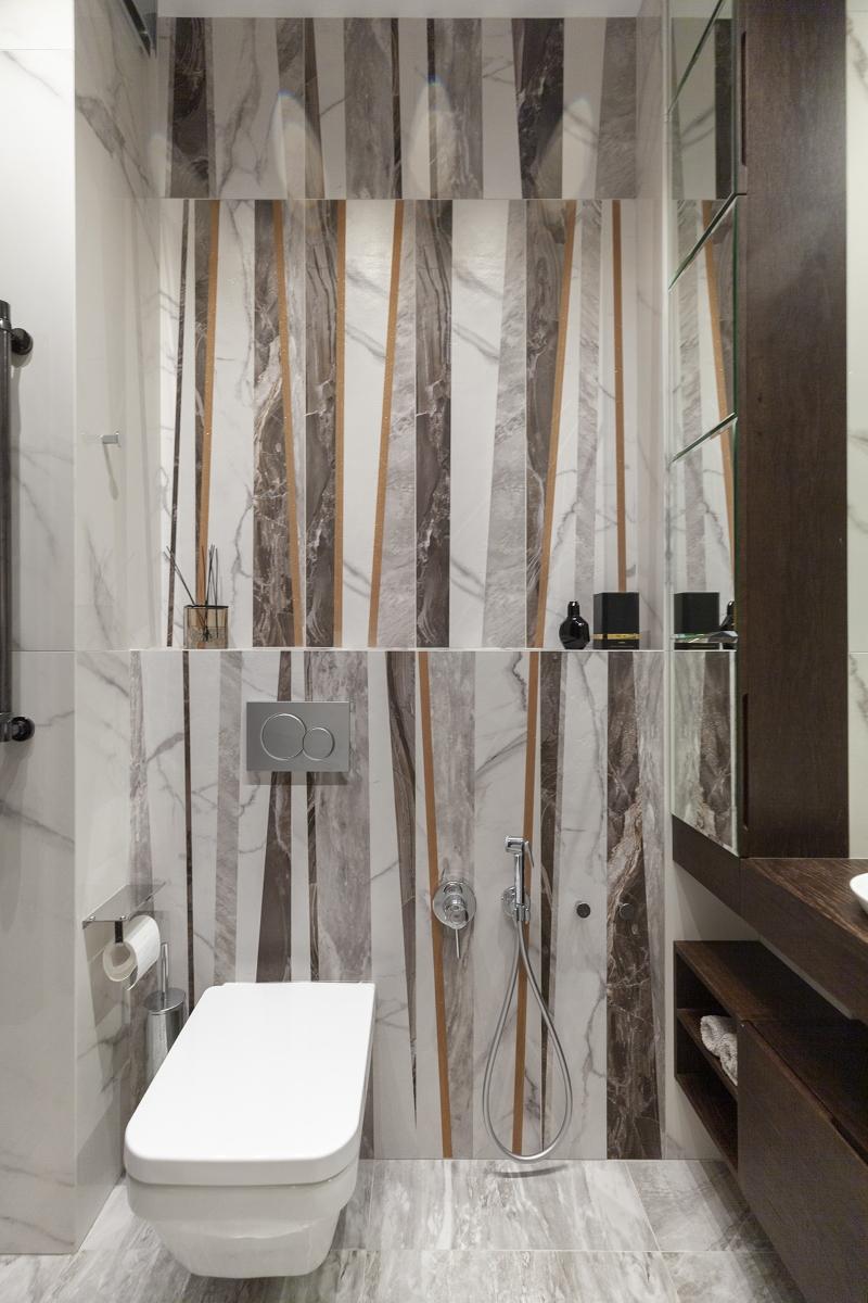 дизайн санузла в трехкомнатной квартиры