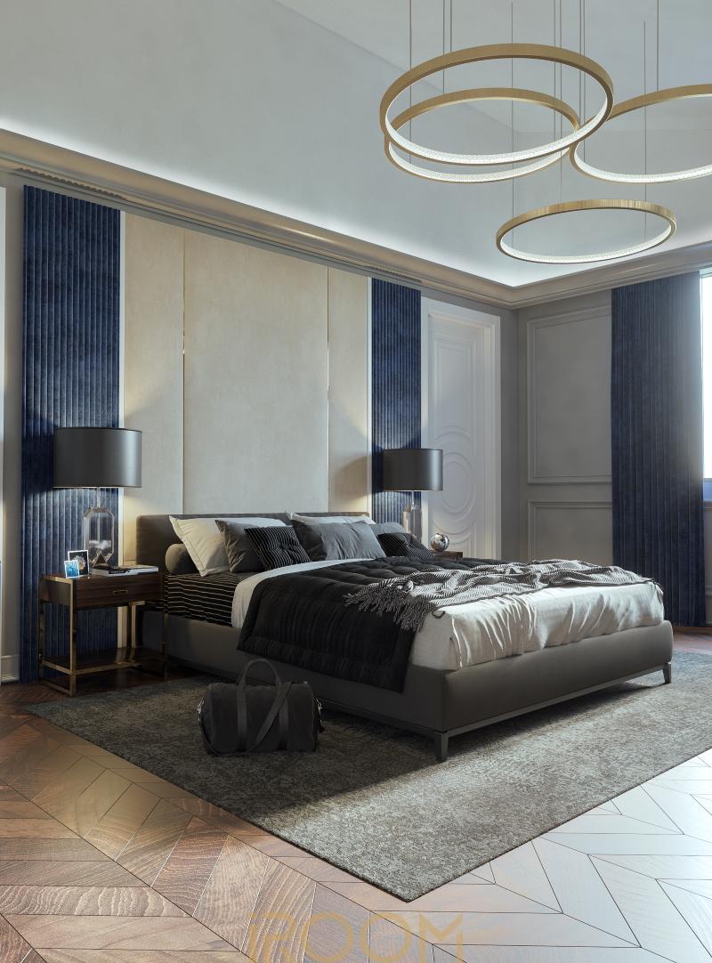 dizajn doma v derevne Borki gostevaya spal'nya