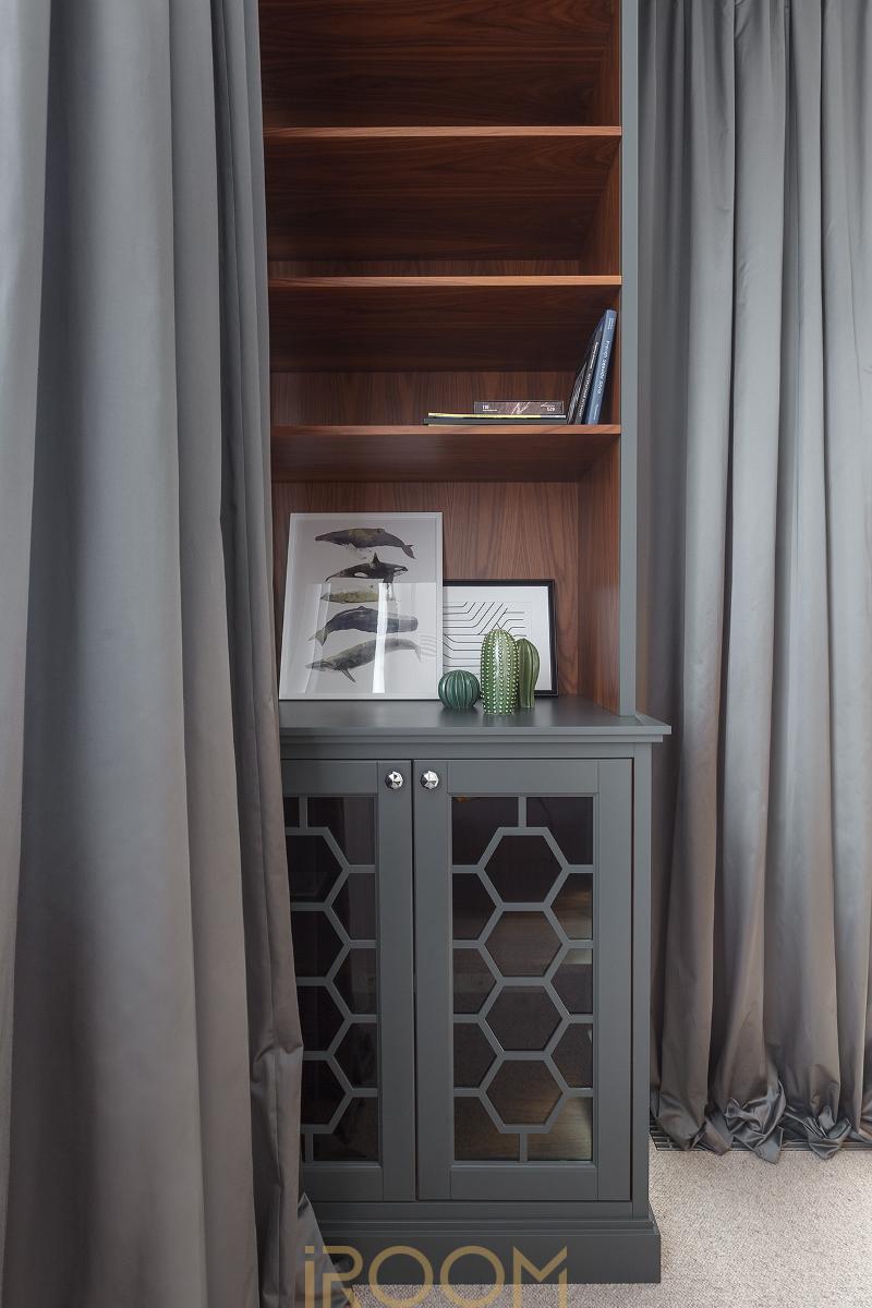 dizajn kabineta v kvartire