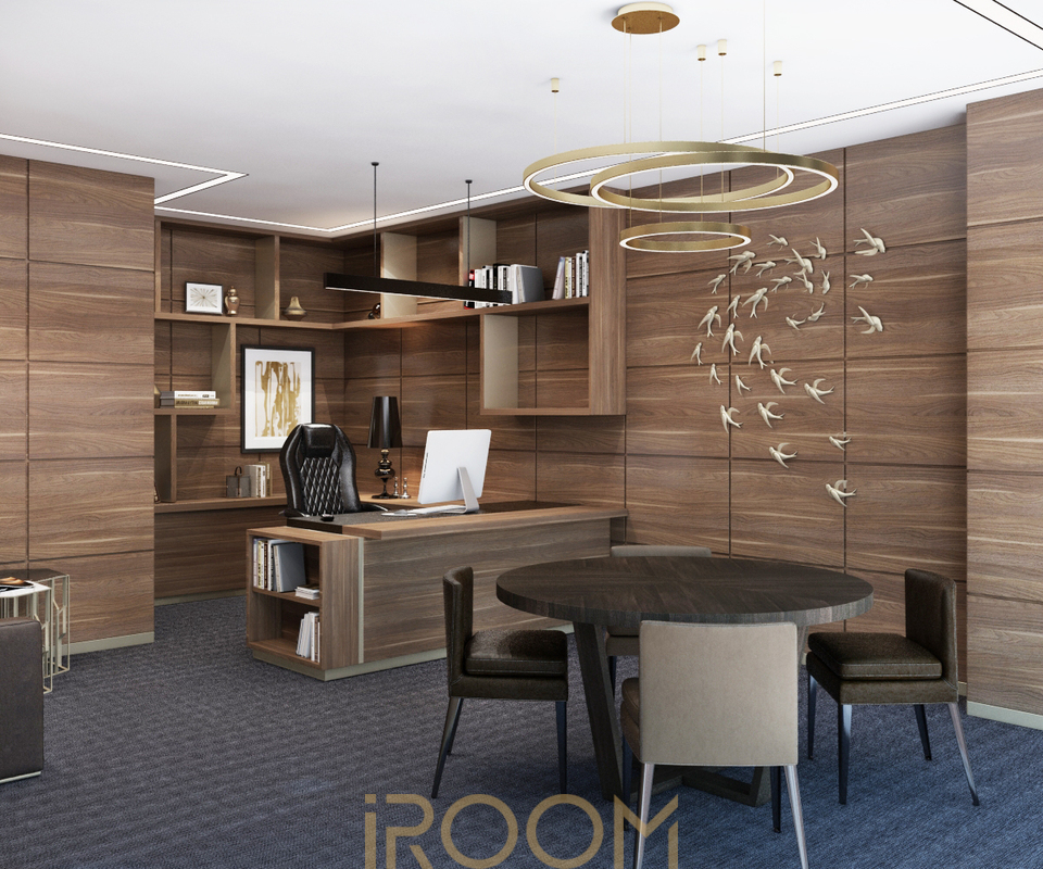 dizajn ofisa kabinet direktora (3)
