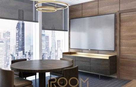 dizajn ofisa kabinet direktora 4 460x295 - Дизайн квартир, коттеджей и офисных помещений