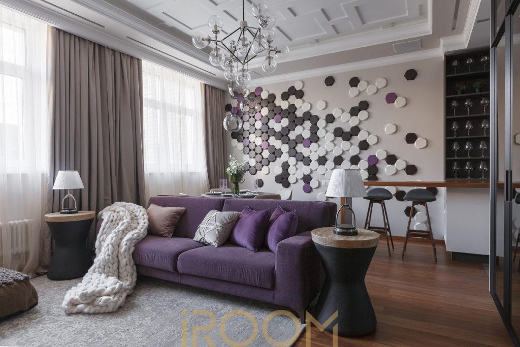 dizajn proekt kvartiry dom na Lyusinovskoj