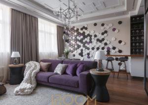 dizajn proekt kvartiry dom na Lyusinovskoj 300x214 - ЖК Серебряный бор 111 м²