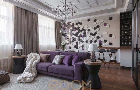 dizajn proekt kvartiry dom na Lyusinovskoj 460x295 - Дизайн квартир, коттеджей и офисных помещений