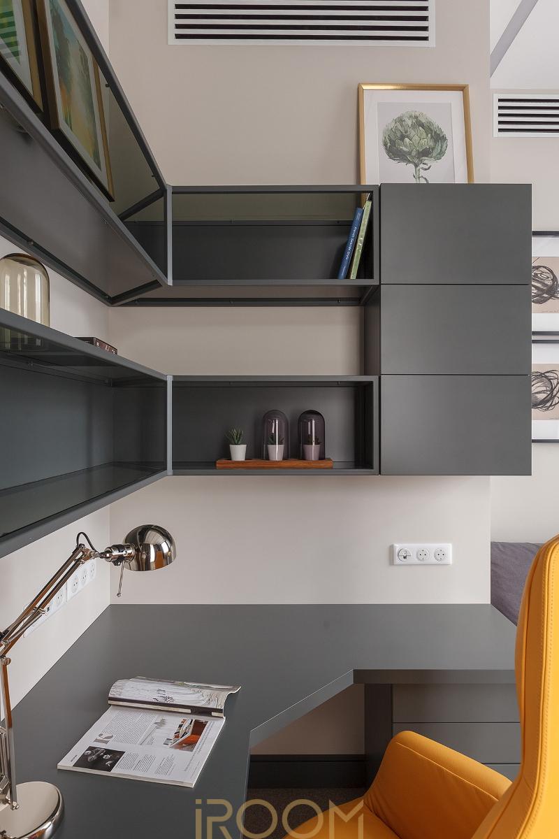 malen'kij kabinet dizajn dom na Lyusinovskoj