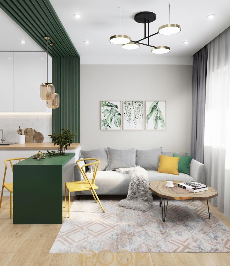Квартира студия город Мурино 24 м²