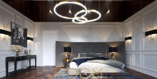 spalnya dizajn dom v derevne Borki 540x272 - Дизайн помещения стоимость Design