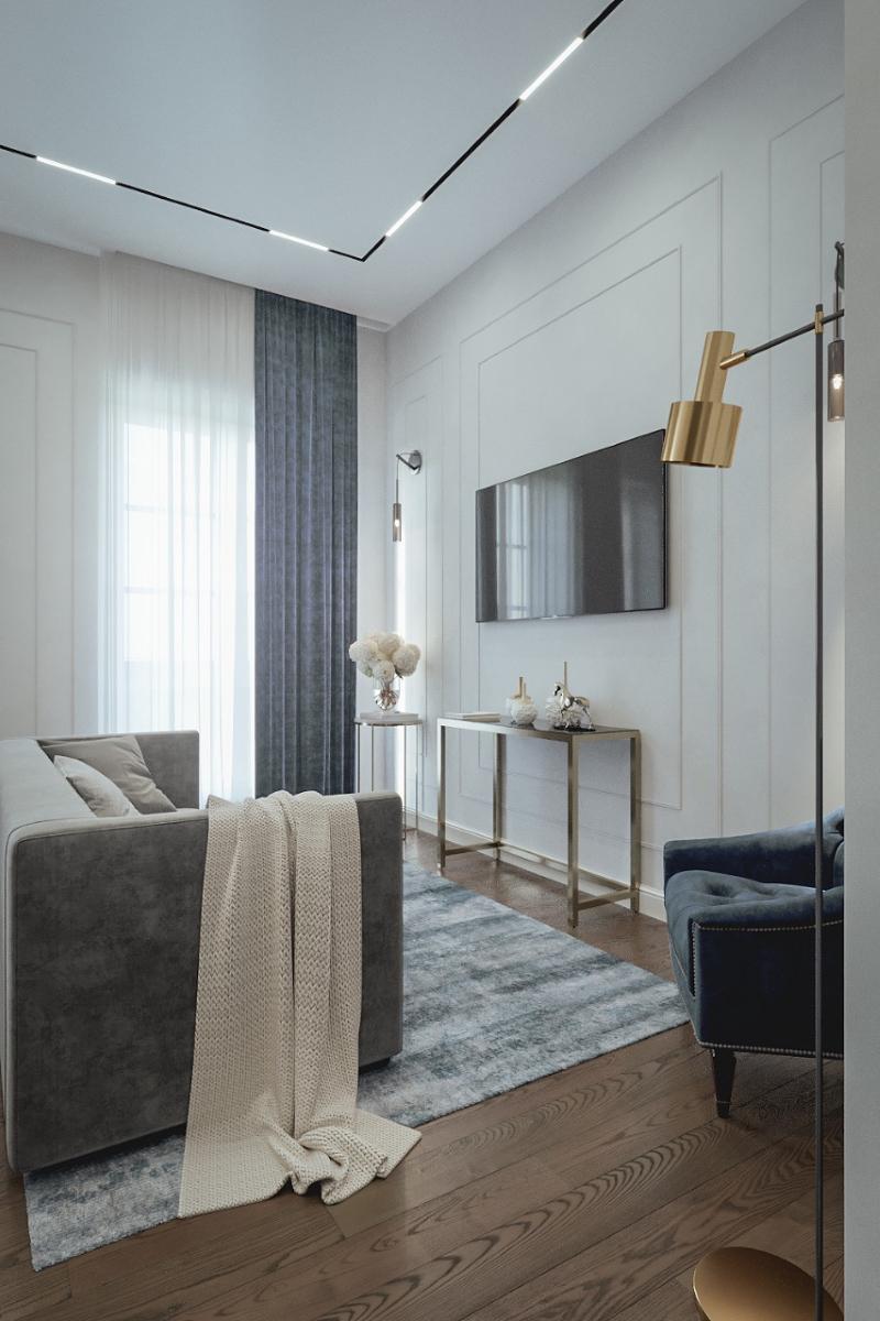 проект 3 комнатной квартиры заказать