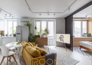 dizajn dvuhkomnatnoj kvartiry na leninskom prospekte 1 300x214 - Дизайн помещения стоимость Comfort