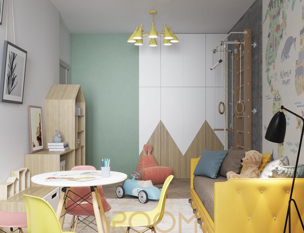 dizajn kvartiry na Ostryakova detskaya (2)