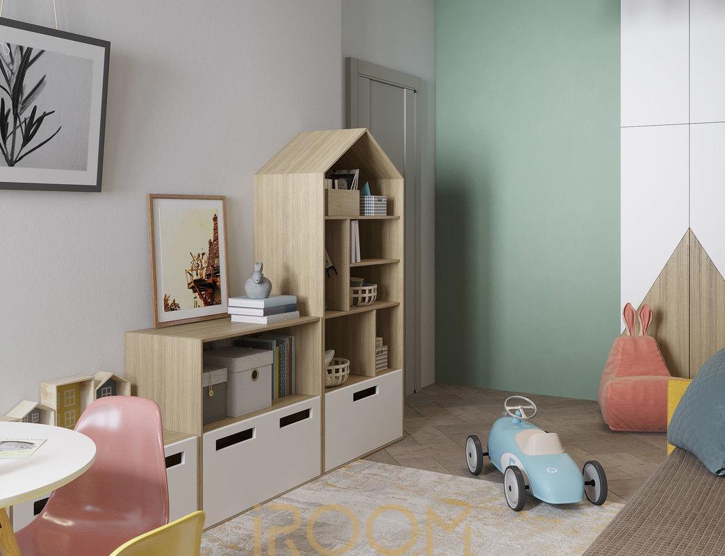 dizajn kvartiry na Ostryakova detskaya (3)