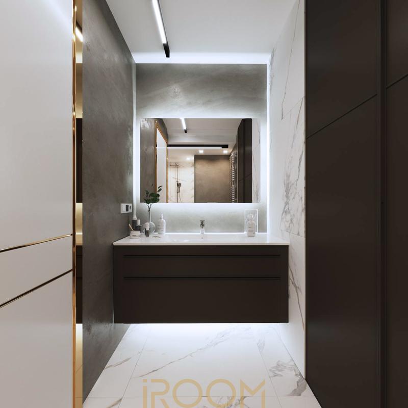 dizajn odnokomnatnoj kvartiry na Michurinskom dizajn sovmeshchennogo sanuzla (1)