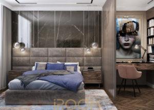 dizajn proekt dvuhkomnatnoj kvartiry 80 kv m 14 300x214 - Квартира в ЖК Триколор 106 м²