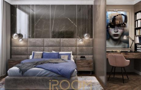 dizajn proekt dvuhkomnatnoj kvartiry 80 kv m 14 460x295 - Дизайн квартир, коттеджей и офисных помещений