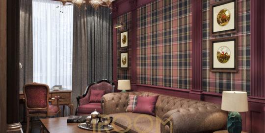 dizajn proekt kvartiry na Vavilova kabinet 2 540x272 - Дизайн помещения стоимость Design