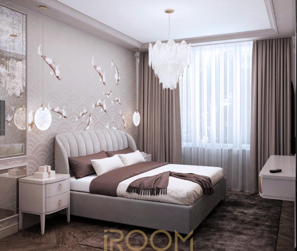 dizajn proekt remonta kvartiry ZhK Serebryanyj Bor spal'nya (3)