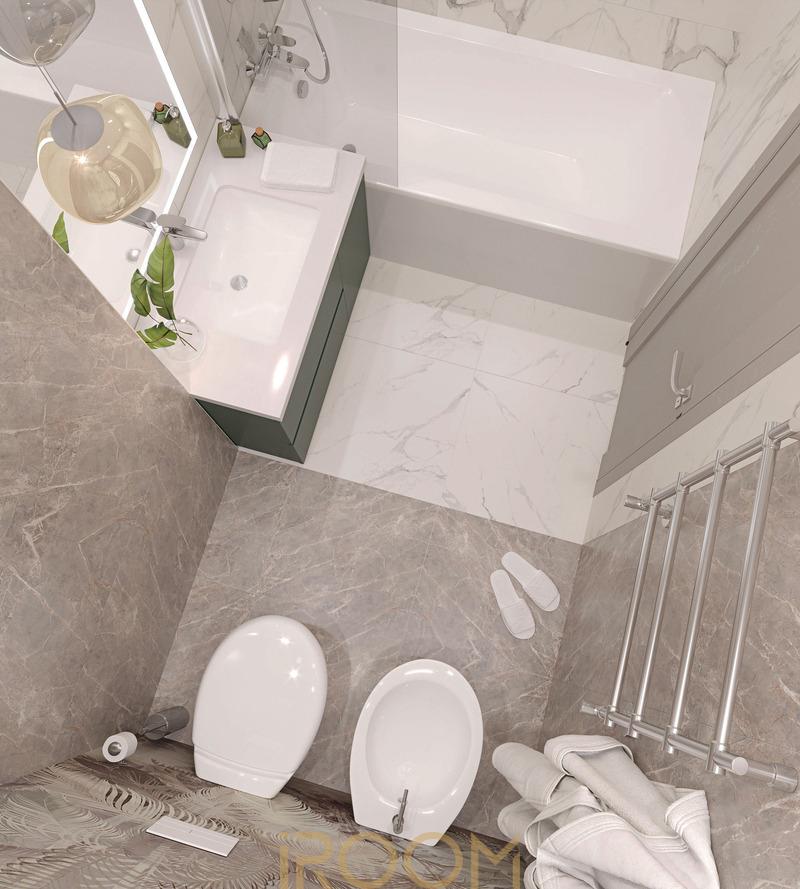 dizajn proekt remonta kvartiry na Ostryakova (3)