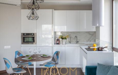 interer kvartiry v zhk Monodom 2 460x295 - Дизайн квартир, коттеджей и офисных помещений