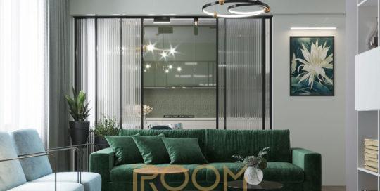 proekt pereplanirovki kvartiry na Ostryakova 6 540x272 - Дизайн помещения стоимость Design