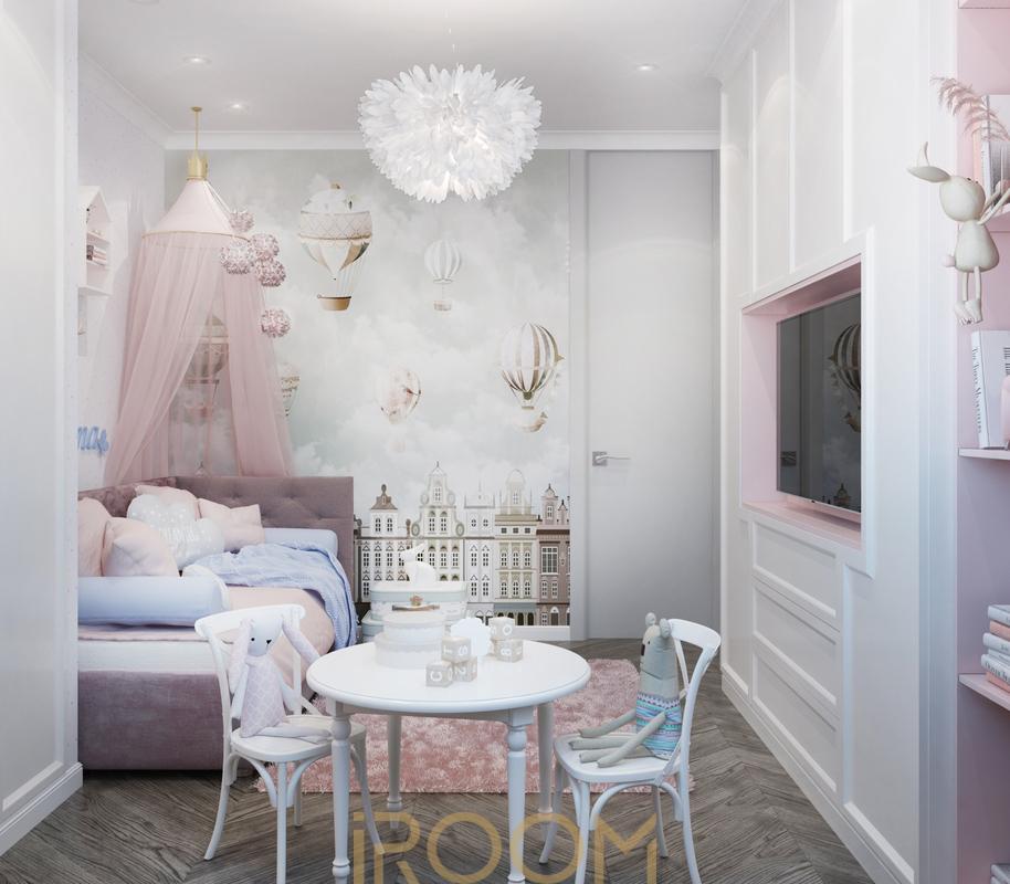 проект детской в квартире