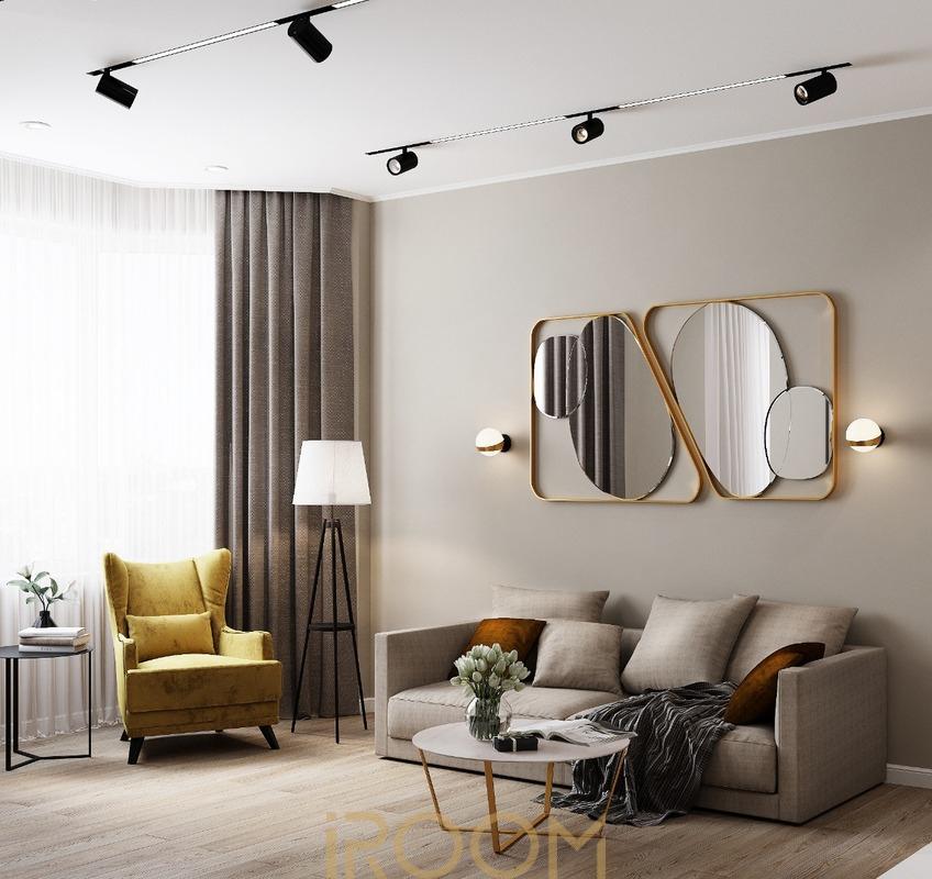 дизайн проект гостиной цена