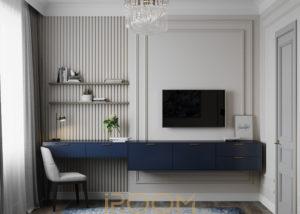 проект кабинета в квартире