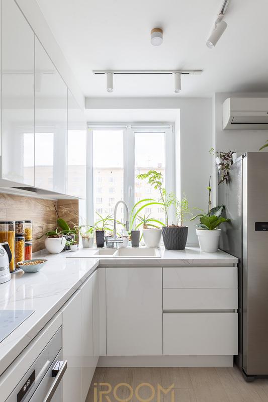 заказать проект кухни в квартире