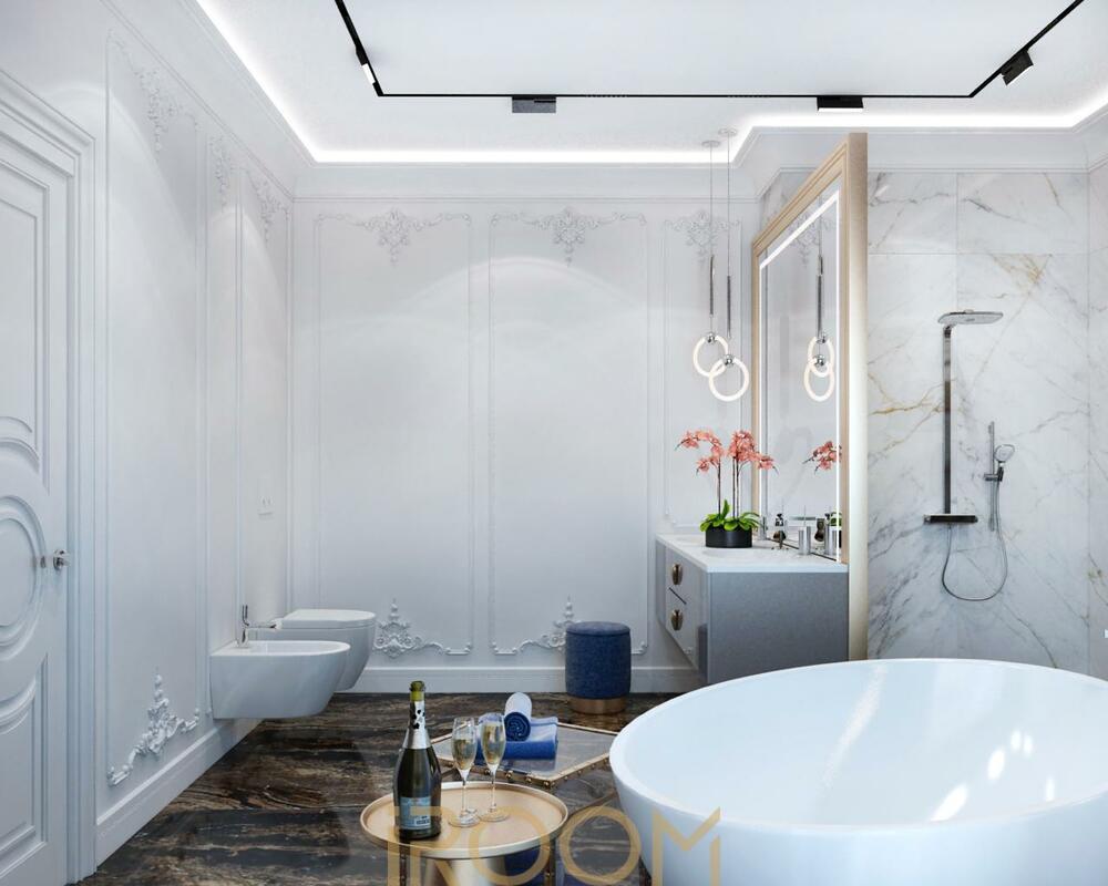 дизайн проект ванной цена