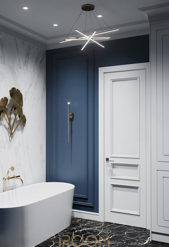дизайн проект ванной комнаты цена