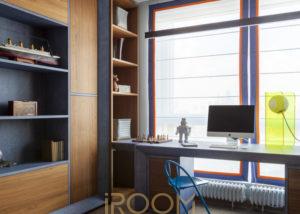 zhk lajner detskaya syna 1 1 300x214 - Спальная комната для подростка в современном стиле