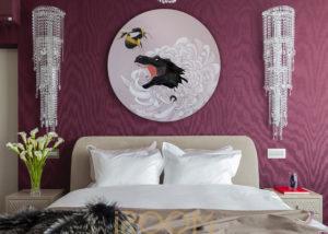 zhk lajner master spalnaya 1 300x214 - Спальная комната в неоклассическом стиле