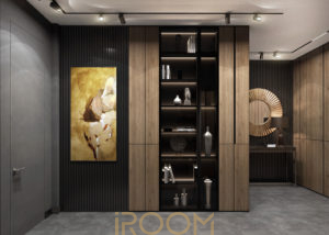 koridor vizualizaciya EgoDom 300x214 - Коридор в неоклассическом стиле